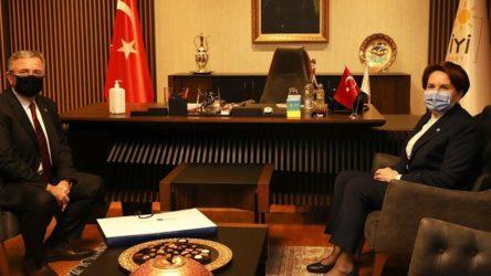 Mansur Yavaş'tan Meral Akşener'e ziyaret