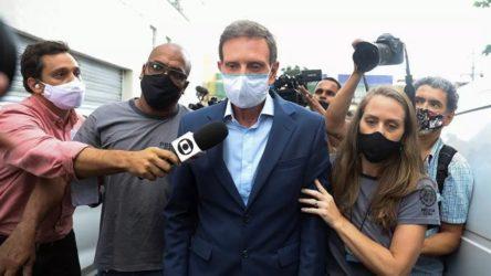 Bolsonaro'ya yakınlığıyla bilinen Rio de Janeiro Belediye Başkanı tutuklandı