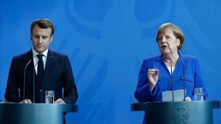 Merkel ve Macron'dan Türkiye açıklaması
