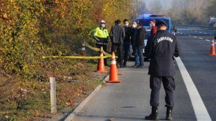 Kadın cinayeti: Öldürdü, yol kenarına attı