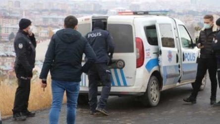 Uçurumun kenarında intihara kalkıştı, 'kısıtlama ihlali'nden 3 bin 150 TL ceza kesildi
