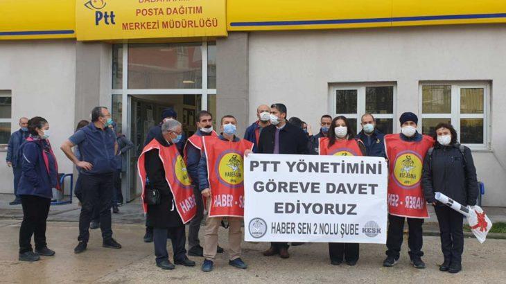 PTT emekçileri artık yoruldu: Koronavirüs değil, alınmayan önlemler bizi öldürüyor