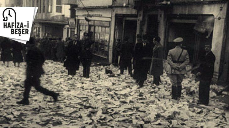4 Aralık 1945: İstanbul'da Tan Matbaası gericiler tarafından basıldı