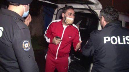 Alkollü şahıstan polislere 'sizi Doğu'ya sürdürürüm' tehdidi