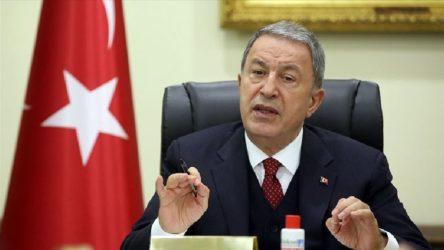 Bakan Akar'dan ABD yaptırımlarına tepki: İttifakın tüm değerlerini sarsmıştır