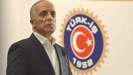 Türk-İş'ten asgari ücret açıklaması: 3 bin liranın altında bir teklif çalışanları mutlu etmez