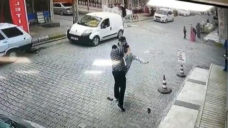 Çocuğu dövüp, yere çarpan şahıs ilk duruşmada tahliye edildi