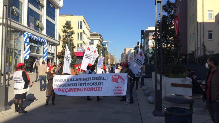 İKD'den Kartal'da ve Sancaktepe'de 'Geçinemiyoruz' eylemi