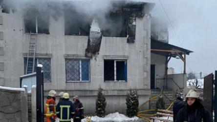 Ukrayna'da huzurevinde yangın çıktı: 15 kişi hayatını kaybetti