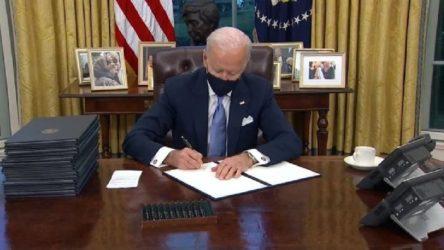 Joe Biden'dan ilk kararnameler