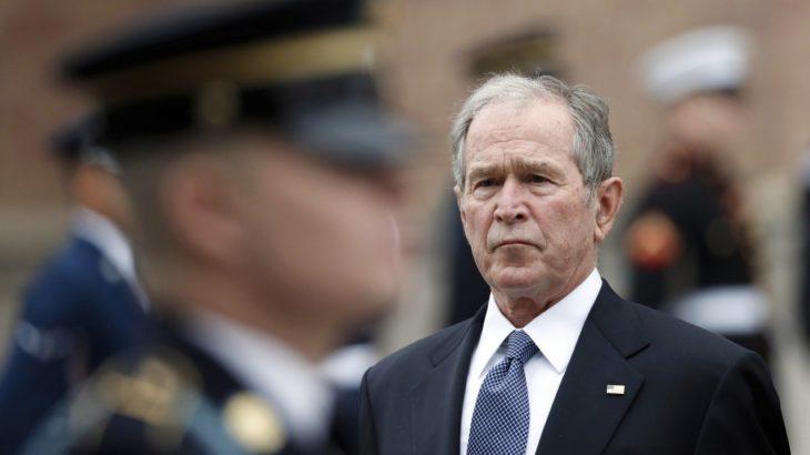 Eski ABD Başkanı Bush'tan Kongre Binası'nın basılmasına ilişkin açıklama
