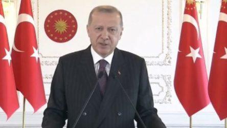 Erdoğan: Eğitimi ve bilimsel çalışmayı desteklemeyi önceliklerimizin en başına yerleştirdik