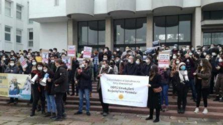'Kayyum rektör' protestolarına katılan ODTÜ'lü iki asistanın işten atılması meclis gündeminde