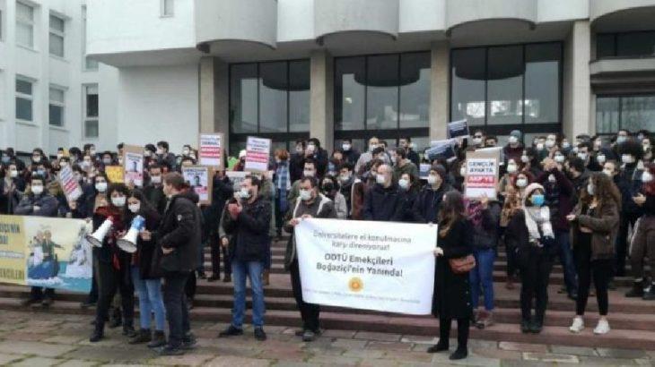 Kayyum rektör protestosuna katılan ODTÜ'lü iki asistan işten atıldı