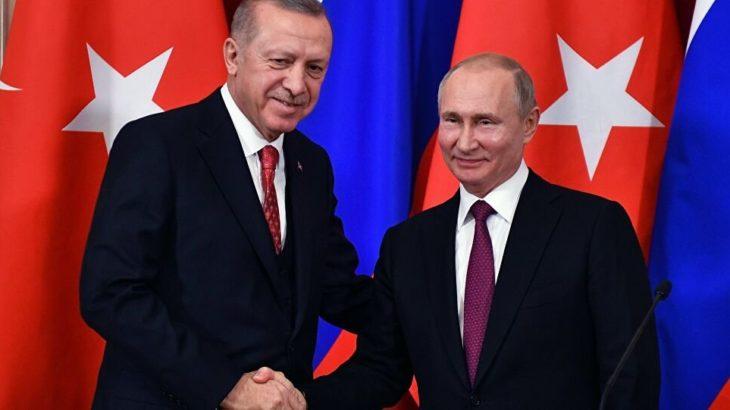 Erdoğan ile Putin Dağlık Karabağ hakkında görüştü