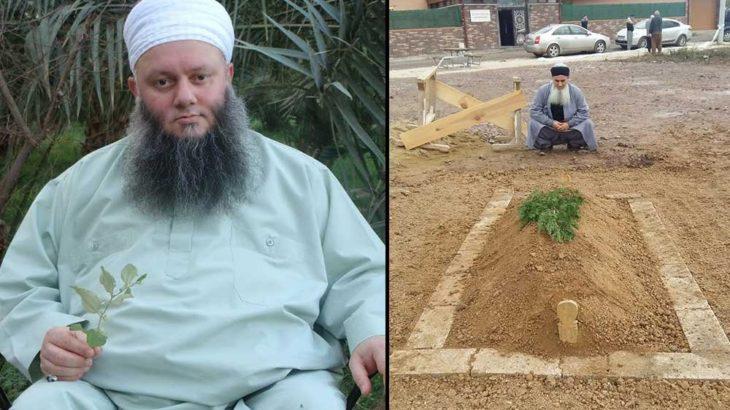 Tarikat şeyhi öldü, türbeye gömüldü