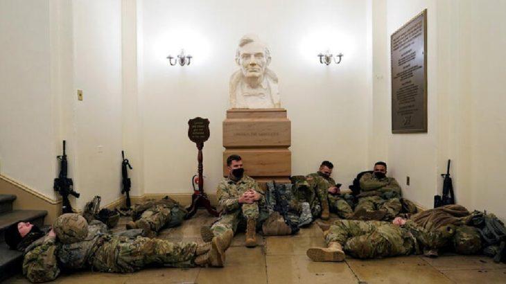 ABD'de Ulusal Muhafızlar, Kongre binasında