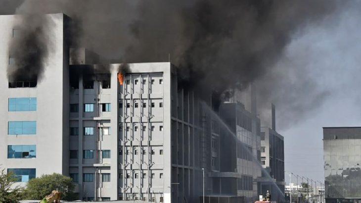 Hindistan'da aşı üretim merkezinde yangın: 5 kişi yaşamını yitirdi