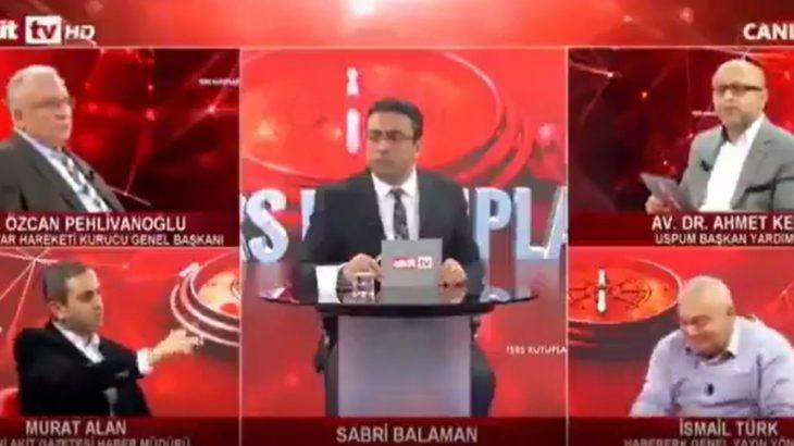 Akit TV'de sağlıkçıya 'rüşvetçi' diyen Akit Müdürü Murat Alan'a yanıt: Haddini bil!