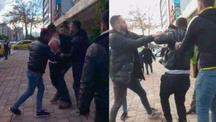 Antalya Muratpaşa'da çocuğu taciz ettiği iddia edilen kişiye meydan dayağı