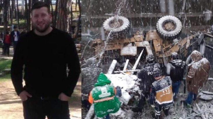 Artvin'de iş makinesi dereye düştü, operatör hayatını kaybetti