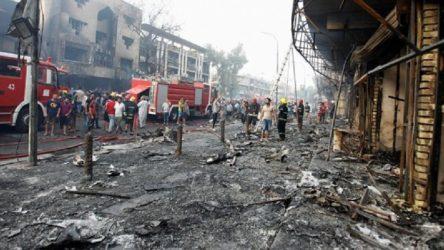 Bağdat'ta pazar yerine düzenlenen saldırıyı IŞİD üstlendi