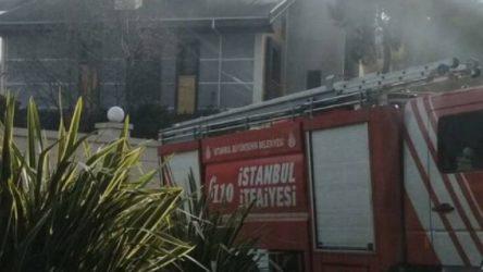 Binali Yıldırım'ın evinde yangın
