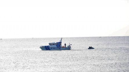Datça açıklarında bir tekne alabora oldu: 1 kişi kayıp