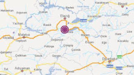 Elazığ Sivrice'de 4.2 büyüklüğünde deprem