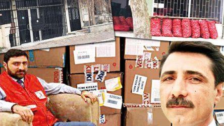 Eski Kızılay çalışanı 100'den fazla TIR'da yer alan yardım malzemelerini pazarda satmış