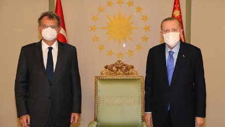 Erdoğan, TÜSİAD Başkanı Kaslowski'yle görüştü