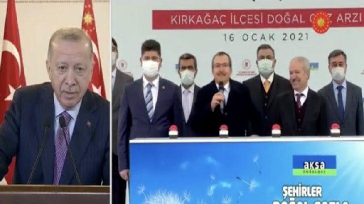 VİDEO   Erdoğan konuşturmadı: Mikrofonu milletvekilimize ver