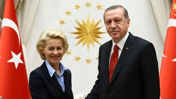 Erdoğan, Von der Leyen'le görüştü: Türkiye'nin geleceğini Avrupa'da görüyoruz
