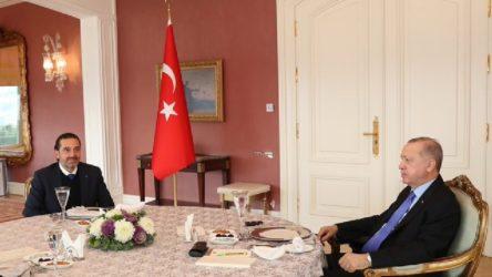 Erdoğan, Hariri'yi ağırladı!