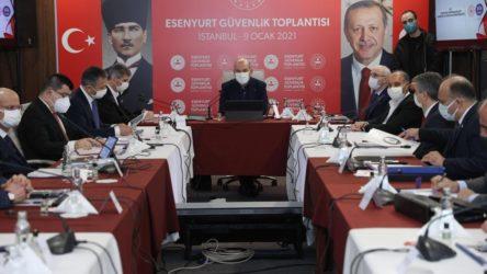 İstanbul'da Soylu başkanlığında güvenlik toplantısı