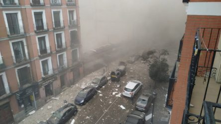 Madrid'deki patlamada ölü sayısı 3'e yükseldi