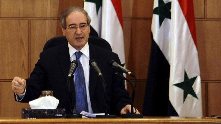 AB'den Suriye Dışişleri Bakanı Faysal Mikdad'a yaptırım