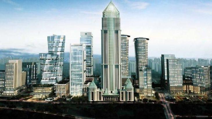 VİDEO | İstanbul Finans Merkezi inşaatında yangın