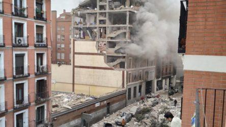 Madrid'de şiddetli patlama: En az 2 ölü, çok sayıda yaralı