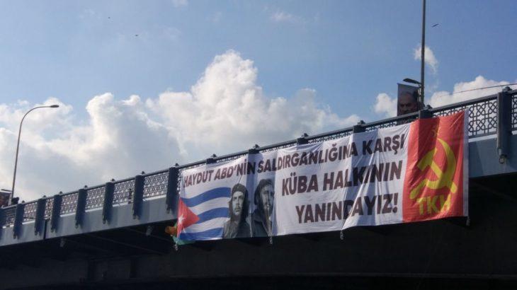 TKH, ABD yaptırımlarına karşı Küba halkının yanında