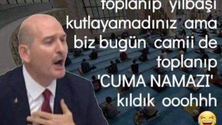AKP İlçe Başkanlığı böyle 'oh' dedi!