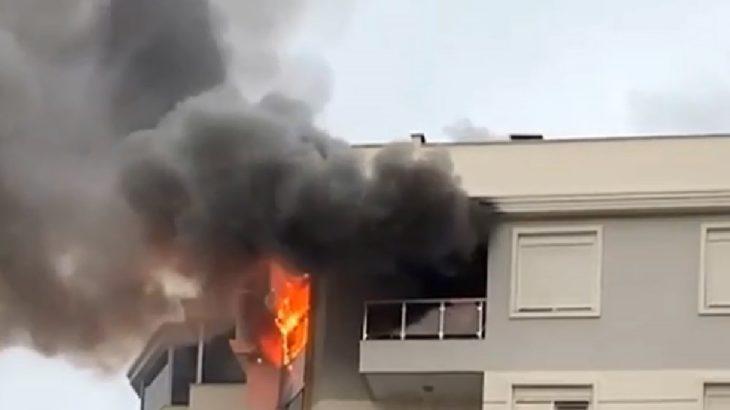 Kiracı 'Allah belanızı versin' notu bırakıp evi yaktı