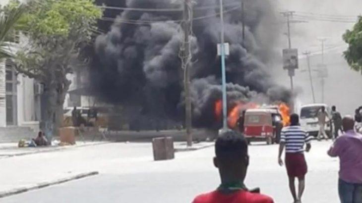 Somali'deki saldırıyı El Şebab üstlendi