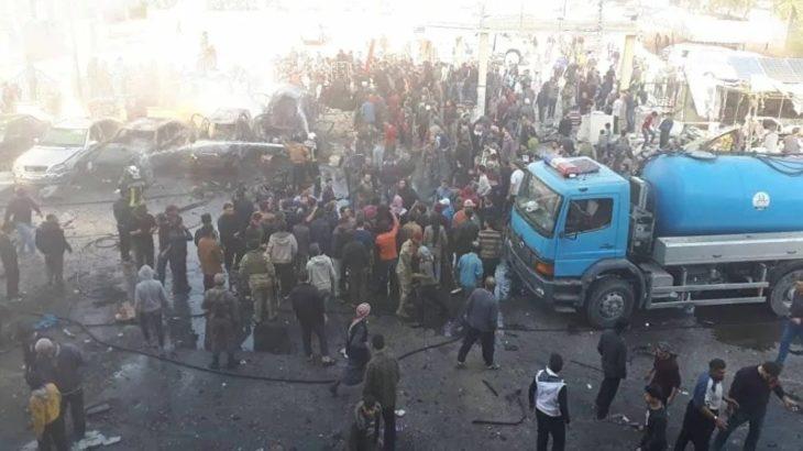 El Bab'da 'kimliği belirsiz İHA' saldırısı