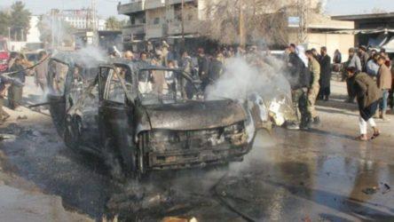 Suriye'de bomba yüklü araç patladı: 2'si çocuk 4 ölü