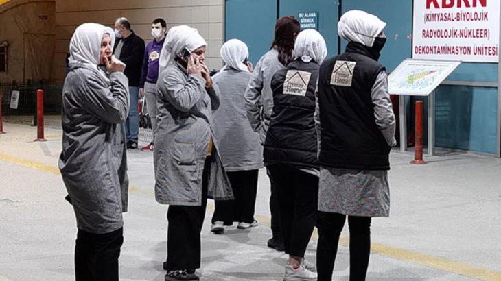 Tekstil fabrikasında 20 işçi boyadan zehirlendi