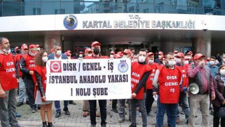Kartal Belediyesi işçilerinden grev kararı