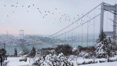 İstanbul bir hafta kar altında kalacak