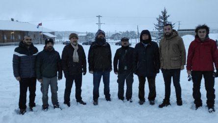 Bakan Gül, Saadet Partisi kampında