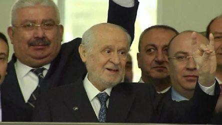 Bahçeli, MHP Genel Başkanlığı'na yeniden adaylığını açıkladı